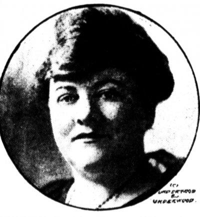 三K黨第一位女性領袖泰勒。(維基百科公有領域)
