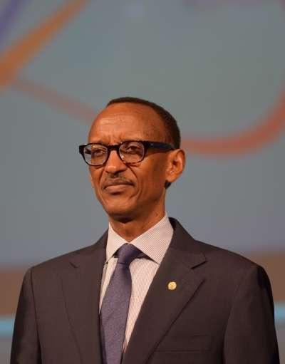 現任盧安達總統卡加梅。(Вени Марковски | Veni Markovski@wikipedia/CCBY-SA4.0)