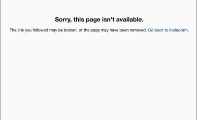 英國哈利王子的未婚妻梅根關閉全部的個人社群網路帳號,包括Instagram(截自Instagram)