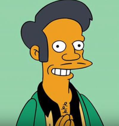 便利店老闆阿普是《辛普森一家》中主要配角之一(圖/截自youtube)