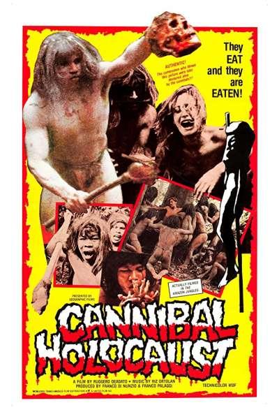 《食人族大屠殺》(Cannibal Holocaust,1980)(圖/取自IMDB)