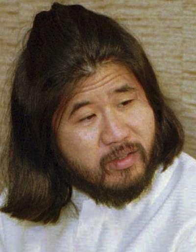 日本邪教「奧姆真理教」教主麻原彰晃(AP)