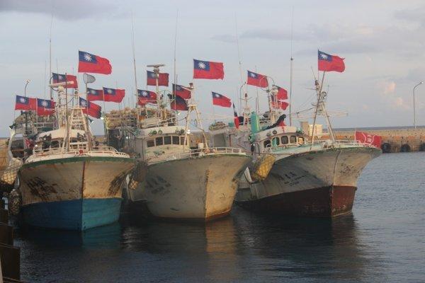 東港漁船欲登太平島