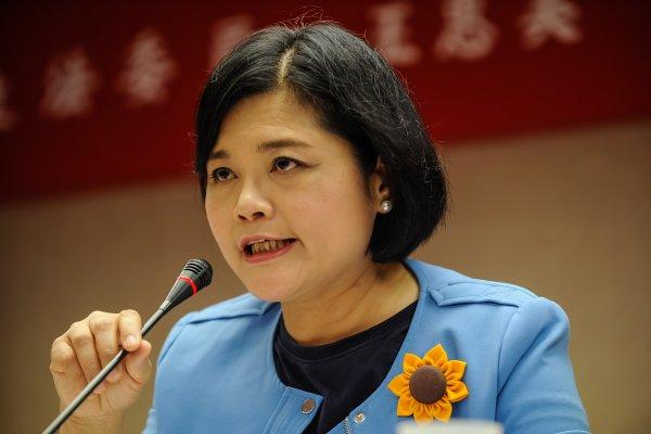 丈夫正在選農會 邱議瑩:張麗善應迴避預算審查