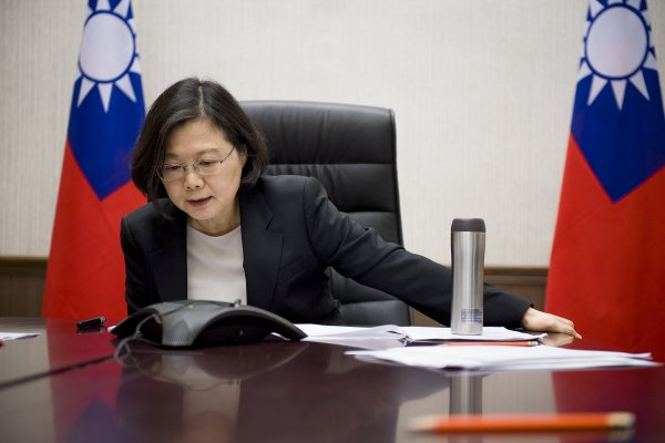路透獨家專訪蔡英文》「有機會再與川普通話」 蔡呼籲中國拿出大國氣度