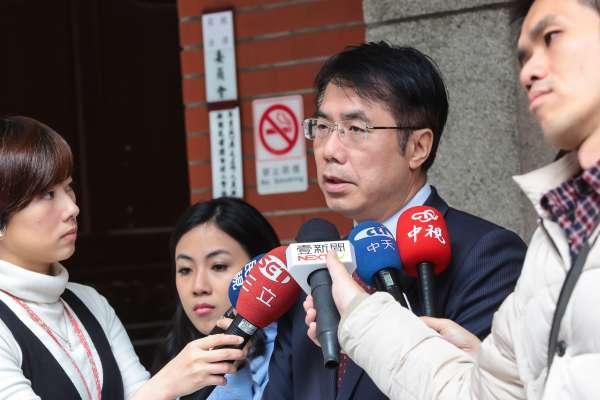 「不允許成為派系之爭!」 黃偉哲登記台南市長初選