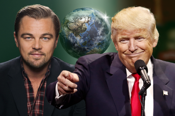 川普的美國》奧斯卡影帝李奧納多會川普「神鬼獵人」力推綠能創造就業