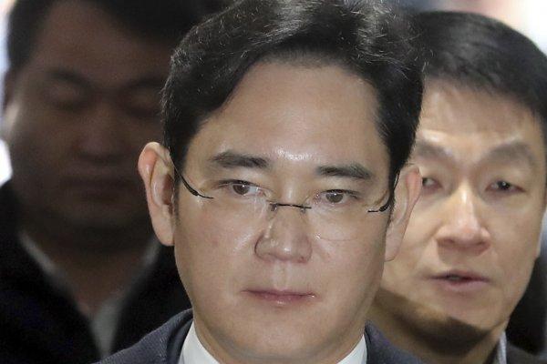 慘!南韓三星電子掌門人李在鎔 今天凌晨遭到逮捕