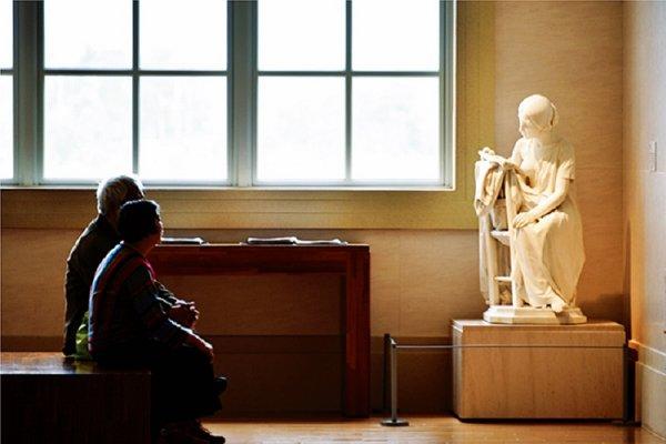 許文龍‧林佳龍對話錄:把永恆的藝術留給後代