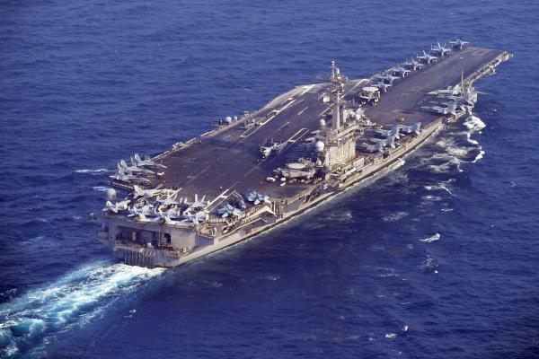 北韓又射飛彈》卡爾文森號現在在哪?29日下午已進入日本海