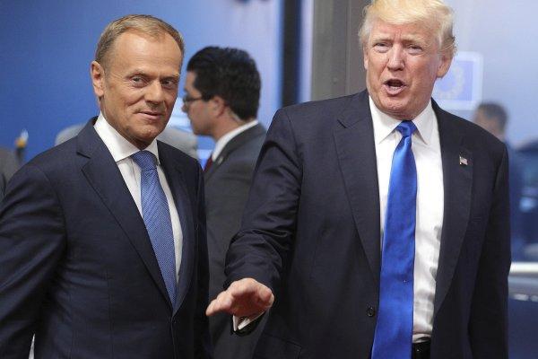 川普訪歐盟談俄羅斯 歐洲理事會主席圖斯克:沒共識