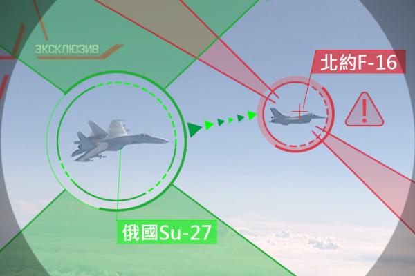 北約戰機兩度跟蹤俄國防長座機 Su-27亮出機翼掛載武器逼退