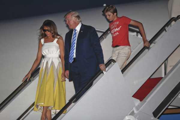 川普11歲么兒遭批穿著不得體 梅蘭妮亞感謝雀兒喜仗義執言