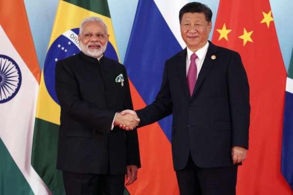 龍象鬥握手言和 習近平會莫迪:增加互信維護邊境和平