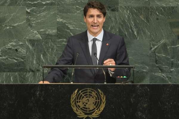 加拿大爭取成為聯合國安理會理事國 杜魯道總理:致力捍衛弱勢、保障婦女權利、創造和平與繁榮