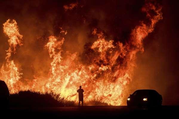 南加州野火燒不盡》街友非法生火煮飯釀災害 氣候乾燥助長火勢蔓延