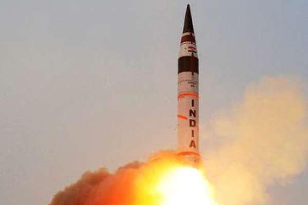 全中國都在射程範圍內!印度成功試射烈火5號飛彈