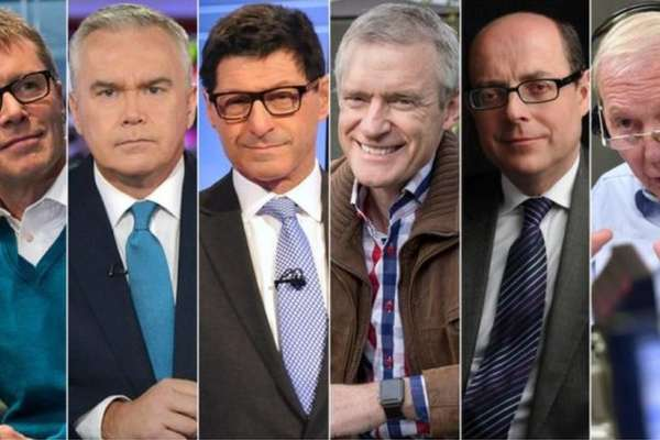回應男女薪酬不平等 六名BBC男主持人接受減薪