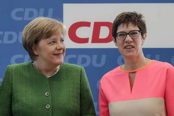 德國「鐵娘子」接班人選浮出水面?梅克爾提名薩爾蘭邦女邦長擔任基民盟秘書長