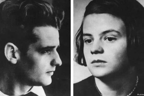 歷史上的今天》良知、勇氣、白玫瑰—反抗希特勒的紹爾兄妹慘遭斬首