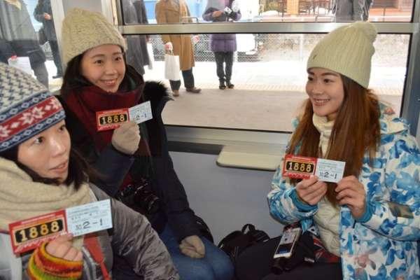 信濃鐵道外國人限定車票 輕井澤至屋代區間任你搭