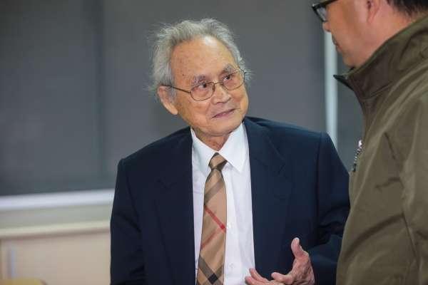 「整個台灣社會就是受難者」白色恐怖入獄10餘年 蔡寬裕籲公佈告密者檔案