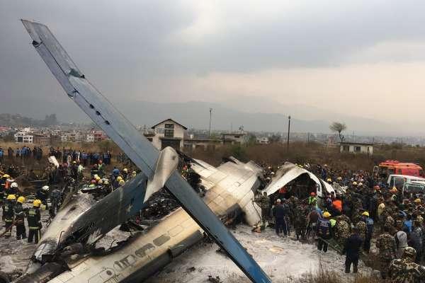 尼泊爾加德滿都機場驚傳降落意外  至少49死、22人生還