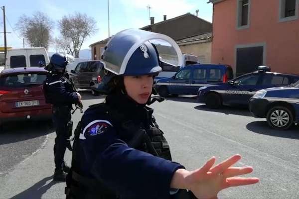 法國南部小鎮驚傳恐攻 兇嫌衝入超市開槍殺戮 宣稱效忠伊斯蘭國