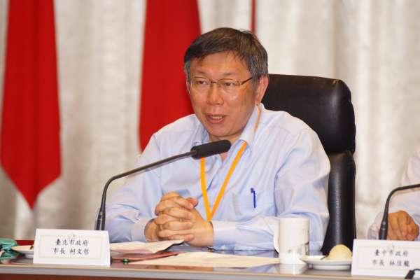 台中市長選舉》「柯文哲現象」波及台中?林佳龍稱影響不大、國民黨不敢輕忽