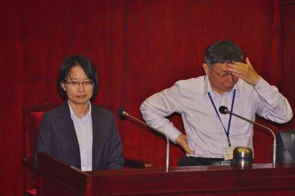 杜宇觀點:北農總經理將是台北市長選舉的破口!