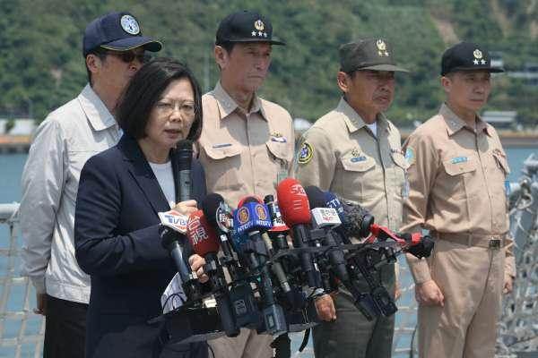 陳昭南專欄:小英一席話,道破台灣人民為何不從軍!