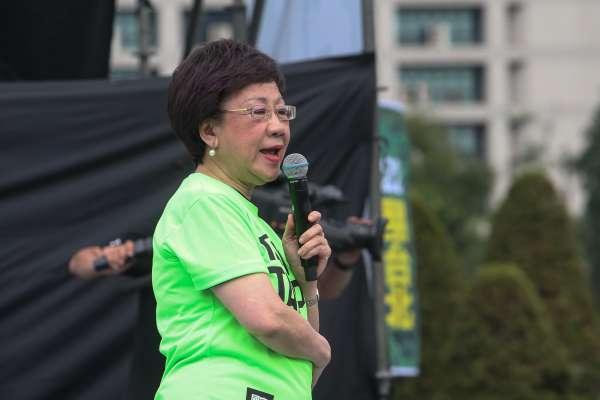 怒批「中央黨部每天侮辱我!」呂秀蓮大遊行力挺:姚文智是第一名立委