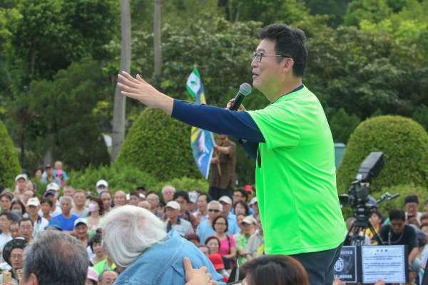 號稱3萬人遊行力挺 姚文智:要當陳水扁以來最好的台北市長