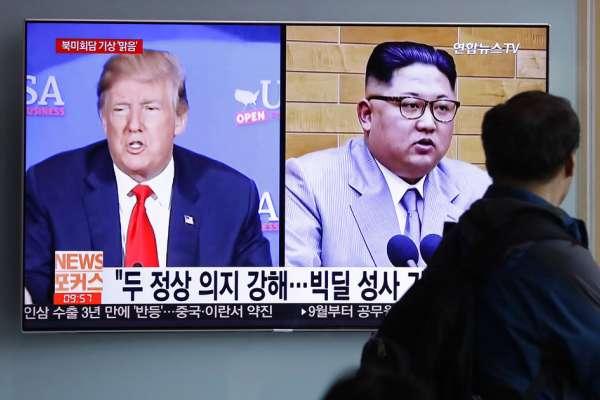 南韓總統文在寅訪美》力保川金會順利舉行 首度與川普進行面對面單獨會談