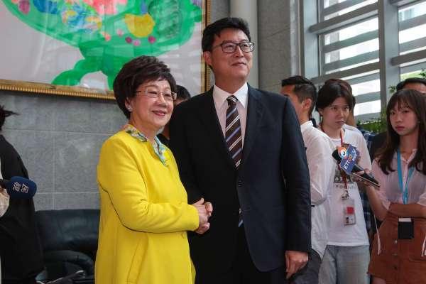 民進黨北市長辯論》呂秀蓮護空防反對遷松機 姚文智憂存恐攻隱憂