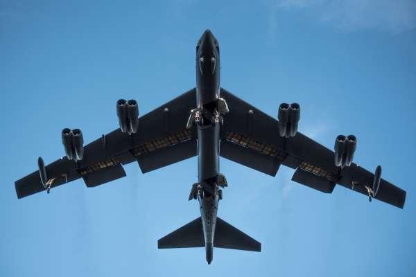 美中南海對峙態勢升高 美軍B-52戰略轟炸機再次飛越南沙群島