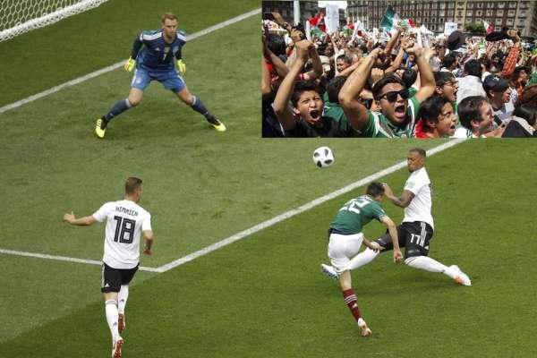 世足》墨西哥射進致勝球 首都球迷「離開地球表面」