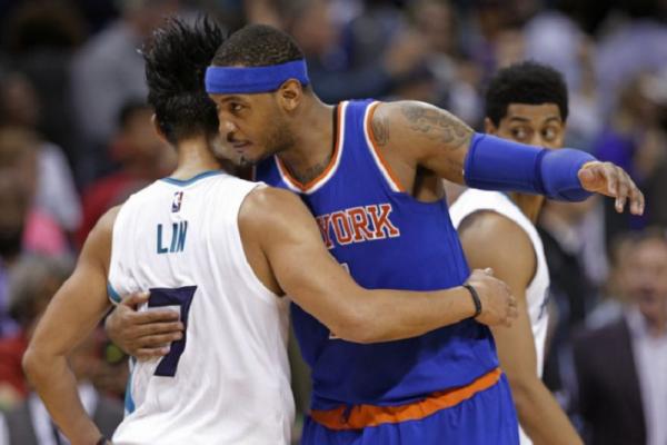 NBA》林來瘋換安東尼? 林書豪駁斥謠言