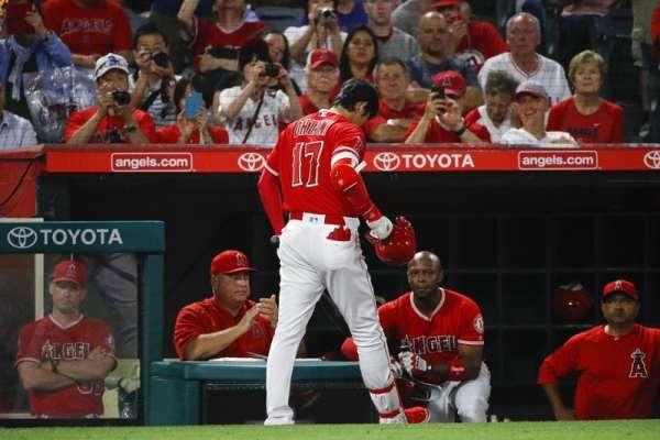 MLB》大谷代打3球三振 19日將評估手肘傷勢