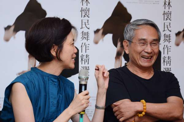 林懷民「從小林變老林」 雲門45周年用最好的舞跟觀眾致謝