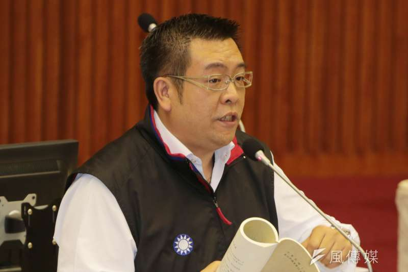 台北市議員葉林傳。(余志偉攝)