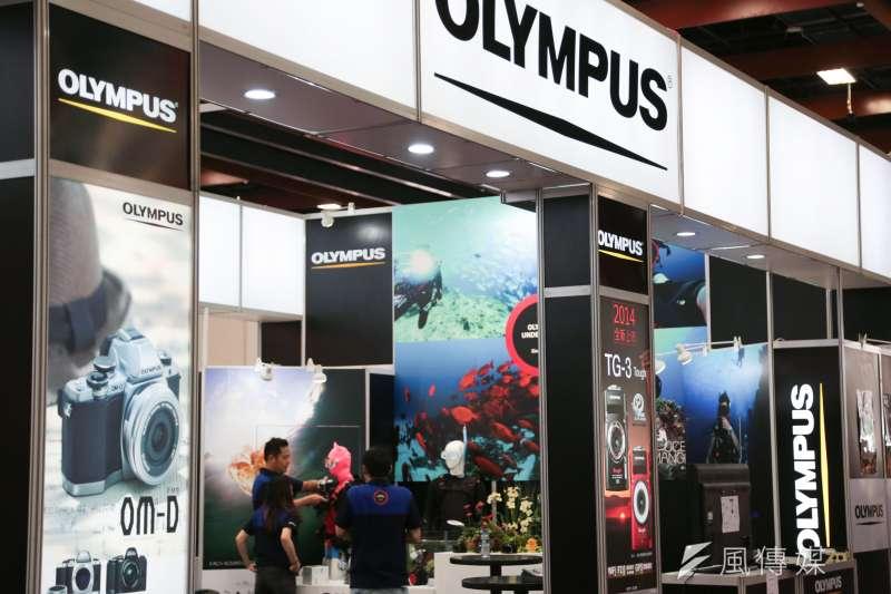 日系數位相機大廠OLYMPUS關閉中國工廠,印證數位相機被手機取代的趨勢。(資料照片,余志偉攝)