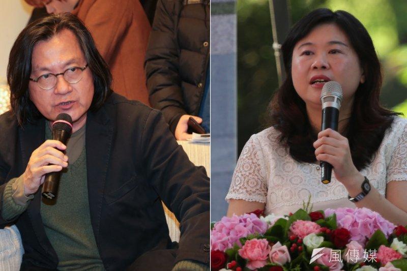 台北市都發局長林洲民日前一段「2005到2015年是『台北假文創』」,與李永萍引發筆戰,對此林洲民20日於臉書發文再度回批。(余志偉攝/影像合成:風傳媒)
