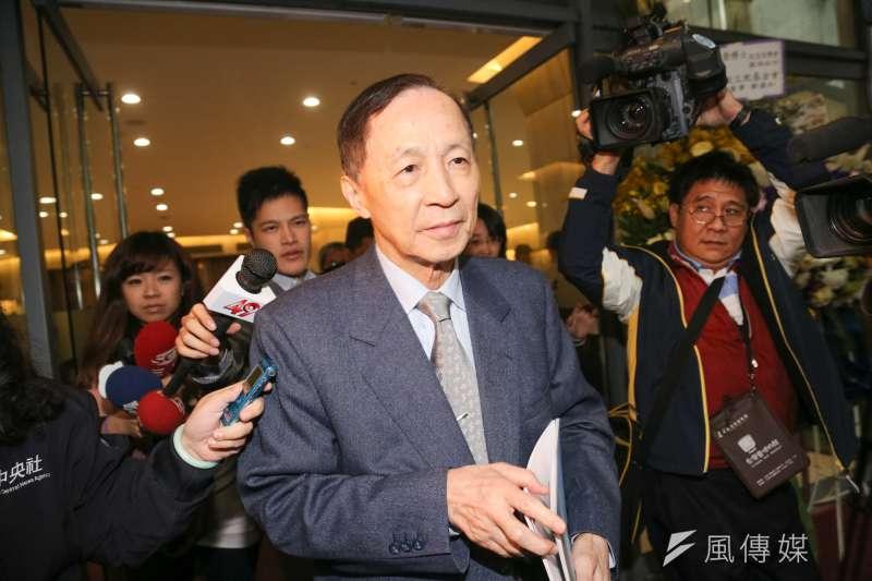 高思博有意選台南市長,但父親高育仁態度保留。(資料照片,余志偉攝)