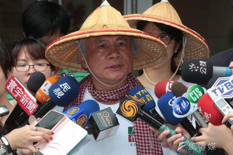 民進黨前主席林義雄領導的「人民作主教育基金會」,今(17) 日正式發出通告,要求立法院在520前三讀通過公投法。(資料照片,余志偉攝)