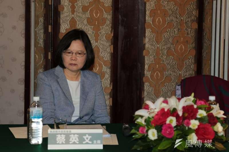 蔡英文主持民進黨第二次執政縣市首長會議(余志偉攝)