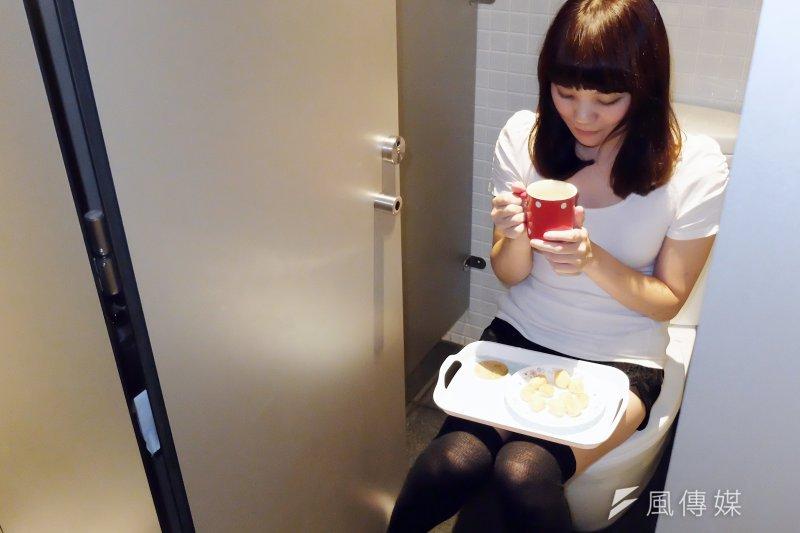 「廁所啟用」(便所開き)是充滿感謝之情的日本習俗(圖/謝孟穎攝影)
