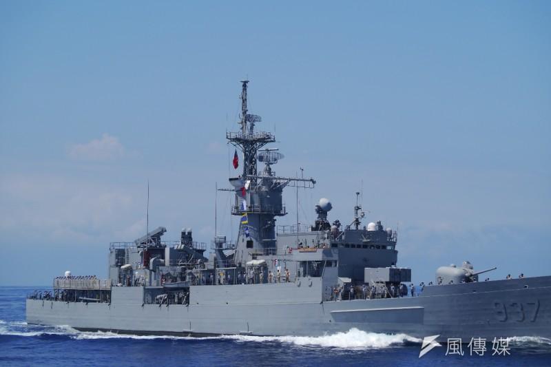 海軍規劃的濟陽級軍艦性能重建案,因技術難度高,且國防資源有限,目前已決定叫停。(資料照,朱明攝)