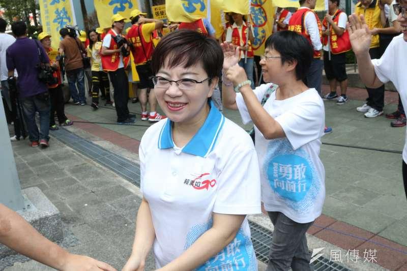 前台北市議員賴素如遭控在台北雙子星案中索賄,最高法院認為案情仍有不少疑點,今天發回更審。(資料照,吳逸驊攝)