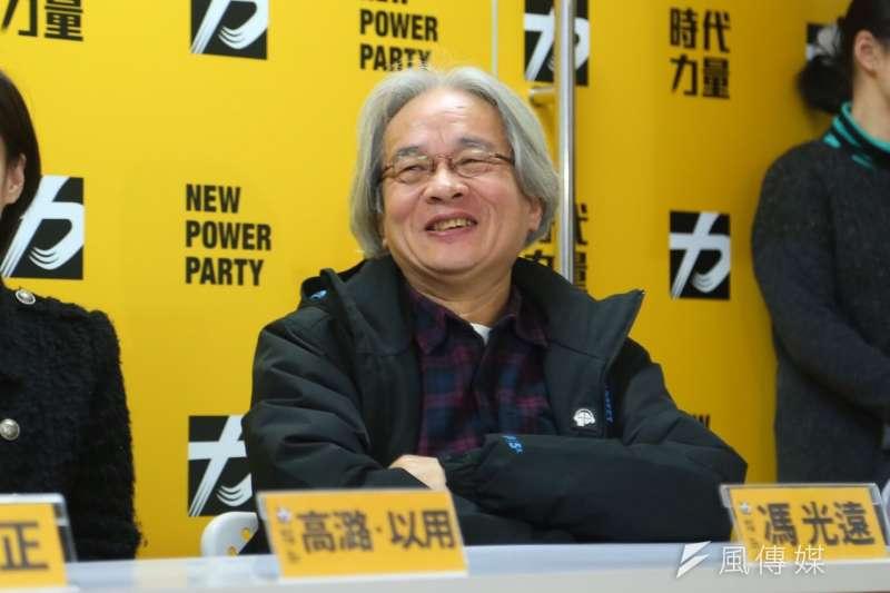 馮光遠在退黨一年後在臉書發文,表示當初看到時代力量變成「國運昌隆黨」就識相的退黨了。(資料照,蔡耀徵攝)